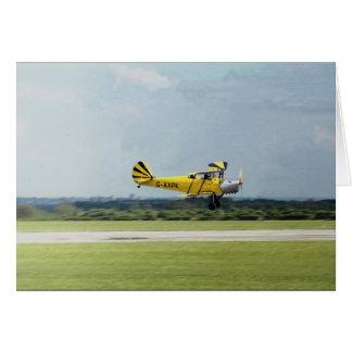 De Havilland Tiger Moth Card
