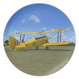 De-Havilland Tiger Moth Plate