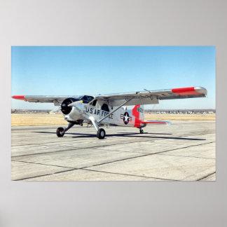 De Havilland U-6A Beaver Poster