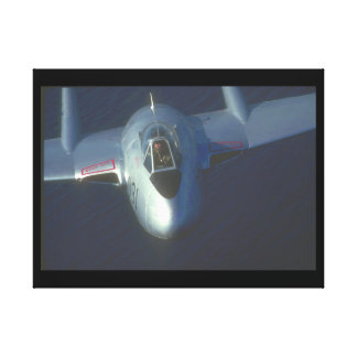 De Havilland Vampire. (vampire_Military Aircraft Canvas Print