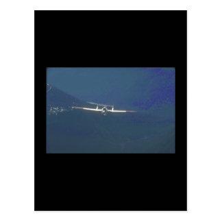 De Havilland Vampire. (vampire_Military Aircraft Postcard