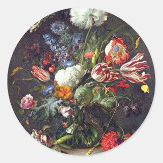 De Heem Flower Stickers