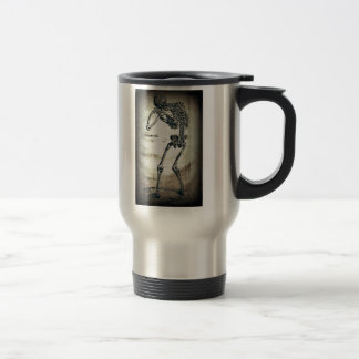 De Humanis Corporis Fabrica (1) VI, by Andreas Ves Travel Mug