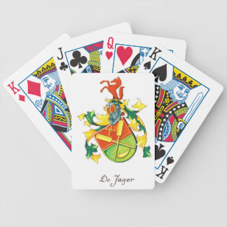 De Jager Crest Playing Cards