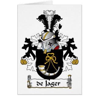 de Jager Family Crest Cards