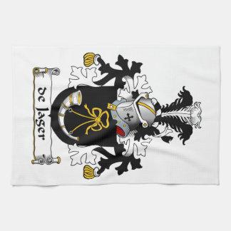 de Jager Family Crest Hand Towels