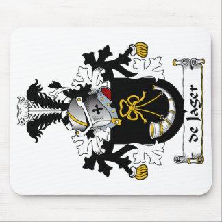 de Jager Family Crest Mouse Pad
