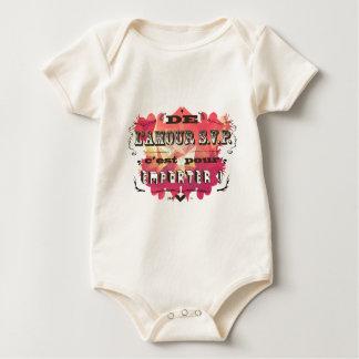 de l'amour s.v.p. c'est pour emporter ! baby bodysuits