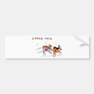 DE LAPINS1.png CHASES Bumper Sticker