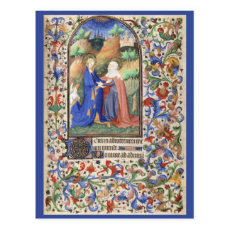 De Levis Book of Hours, Illustration 01 Postcard