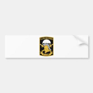 De luftbarne styrkers stofmerker 51st Guards Parac Bumper Stickers