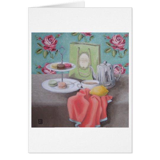 'De Macarons avec Matisse' Art Card