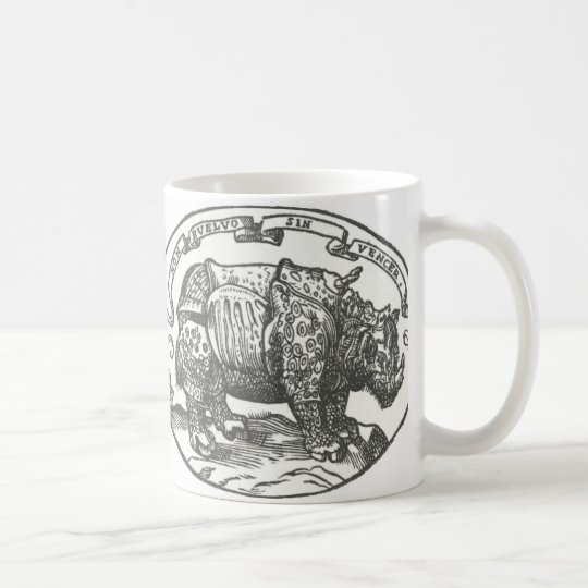 de Medici's Rhinoceros Coffee Mug