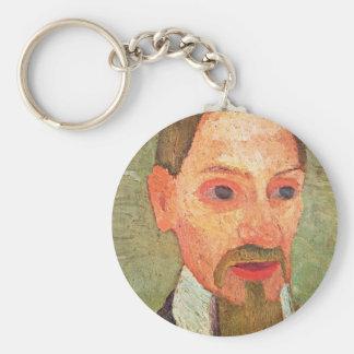 De: Portrait Of Rainer Maria Rilke By Paula Keychains