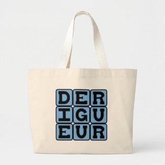 De Rigueur Directed by Etiquette Canvas Bags