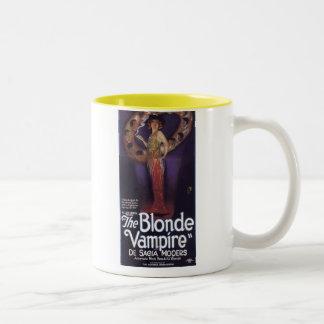 De Sacia Mooers Blonde Vampire movie poster Two-Tone Mug