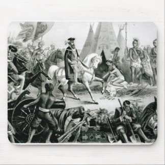 De Soto Discovering the Mississippi Mouse Mat