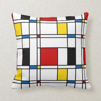 De Stijl Pattern Cushion