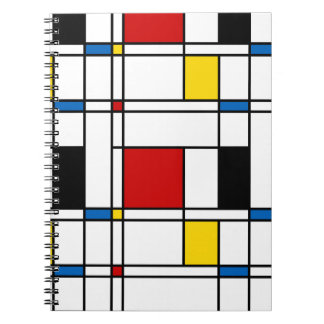 De Stijl Pattern Notebook