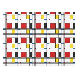 De Stijl Pattern Tablecloth