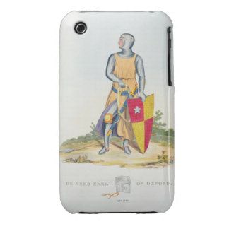 De Vere, Earl of Oxford, 1280, from 'Ancient Armou iPhone 3 Case-Mate Case