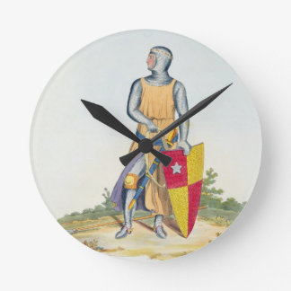De Vere, Earl of Oxford, 1280, from 'Ancient Armou Round Clock