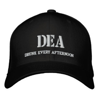 DEA EMBROIDERED BASEBALL CAPS