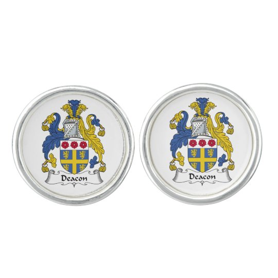 Deacon Family Crest Cuff Links