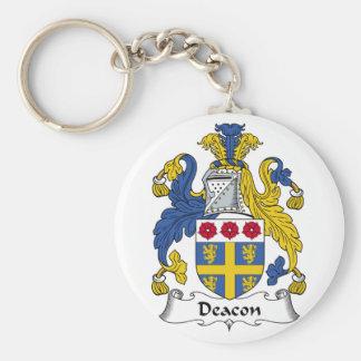 Deacon Family Crest Key Chain