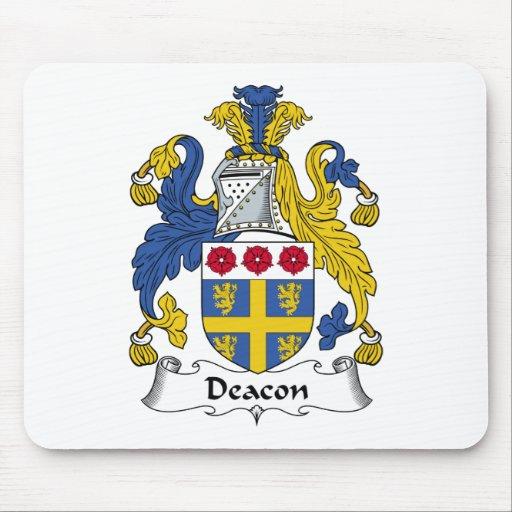 Deacon Family Crest Mouse Pads