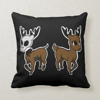 Dead and living deer pillow