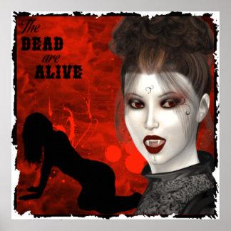 Dead Are Alive - Canvas Print