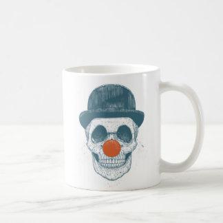 Dead clown basic white mug