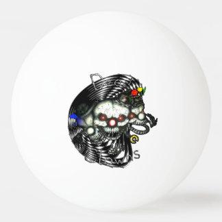 DEAD clown Ping Pong Ball