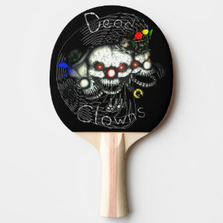 DEAD clown Ping Pong Paddle