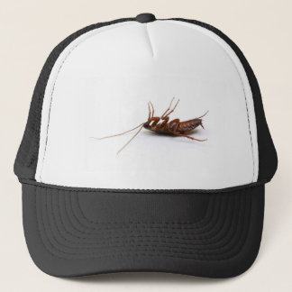 Dead cockroach trucker hat
