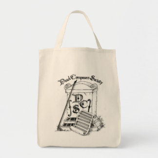 Dead Composer's Society Grocery Bag