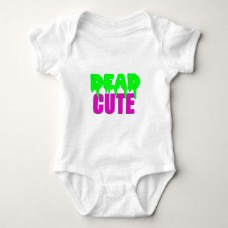 Dead Cute Zombie Design Baby Bodysuit