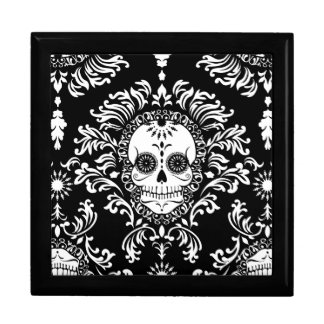 Dead Damask - Chic Sugar Skull Keepsake Box