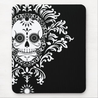 Dead Damask - Chic Sugar Skull Mousepad