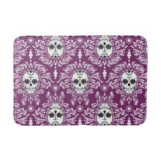 Dead Damask - Chic Sugar Skull Pattern Bath Mat