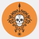 Dead Damask - Chic Sugar Skull Stickers
