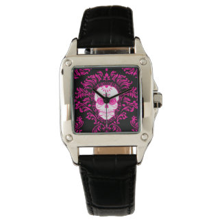 Dead Damask - Chic Sugar Skull Wrist Watch