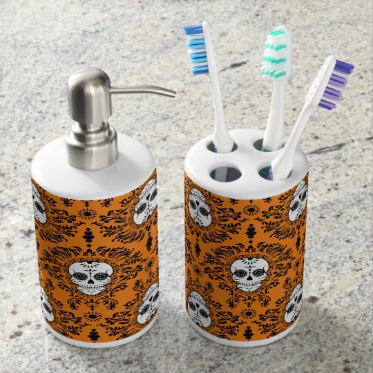Dead Damask - Chic Sugar Skulls Bath Set