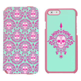 Dead Damask - Chic Sugar Skulls Incipio Watson™ iPhone 6 Wallet Case