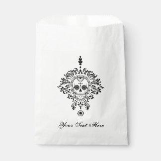 Dead Damask - Custom Sugar Skull Favor Bags