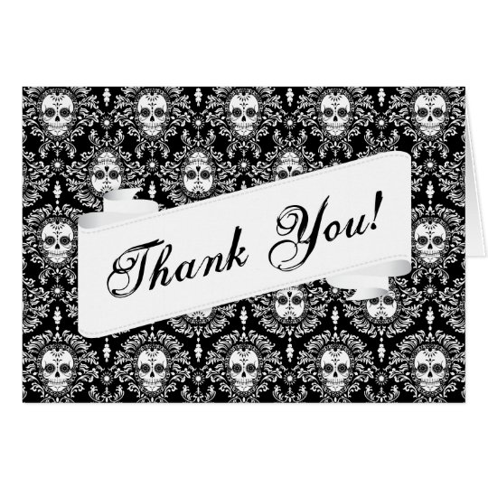 Dead Damask - Custom Thank You Card