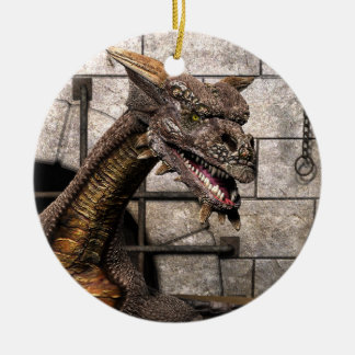 Dead End Dragon Is Looking For Some Dinner - You Christmas Ornament