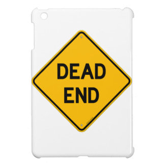 Dead End Sign Cover For The iPad Mini