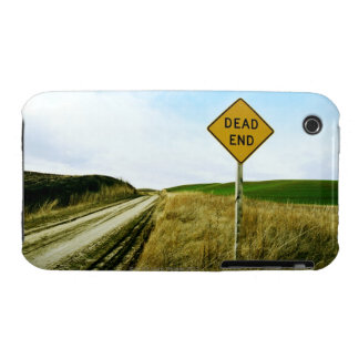 Dead end traffic sign, Palouse, Washington Case-Mate iPhone 3 Case